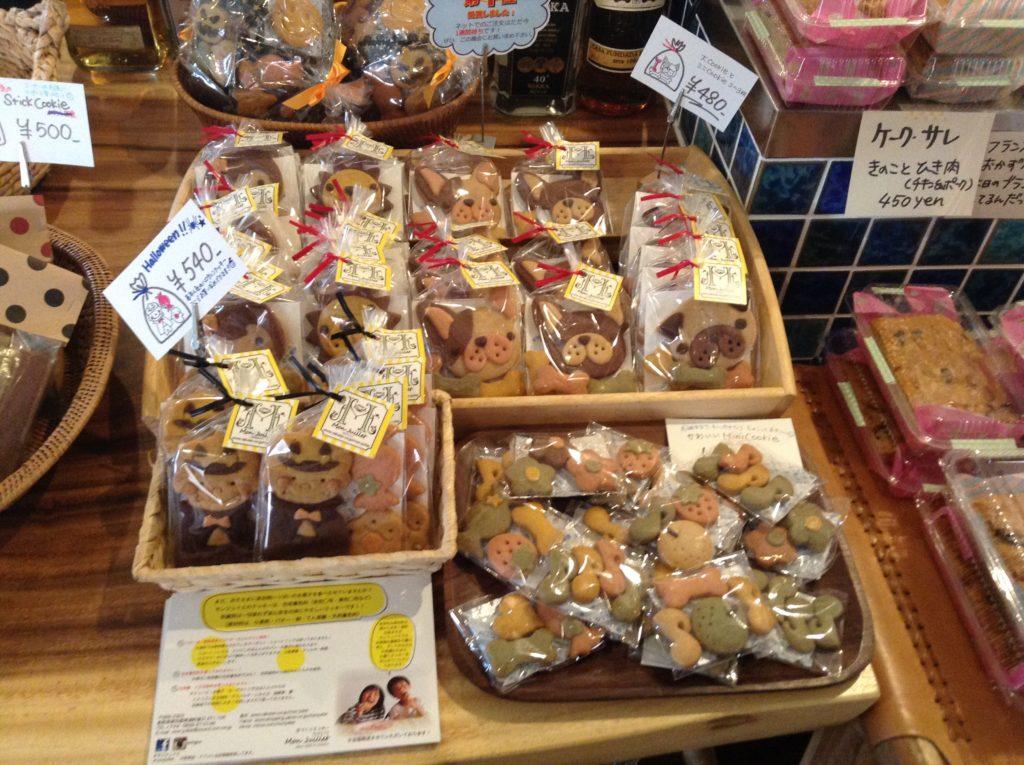 ハンドメイドクッキー、モンジュイエ、クッキー、琴浦町お菓子