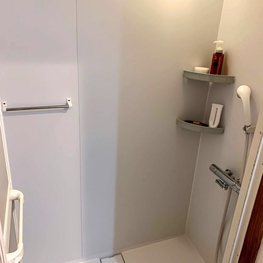 Jepun Sari,店内,換気,バスルーム,シャワーブース